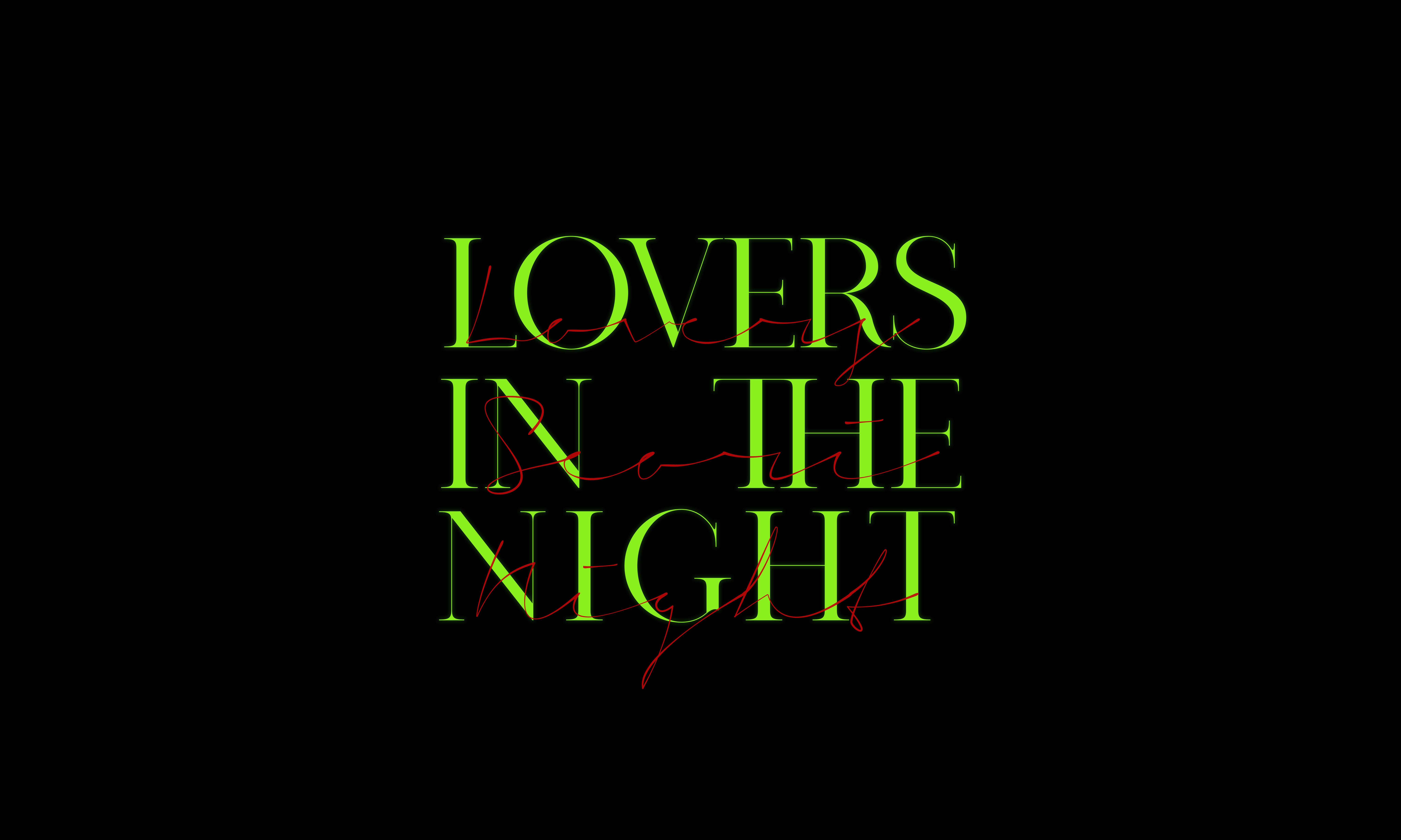 Lovers In The Night